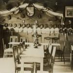 Die Kneiptafel in den 1920er Jahren.